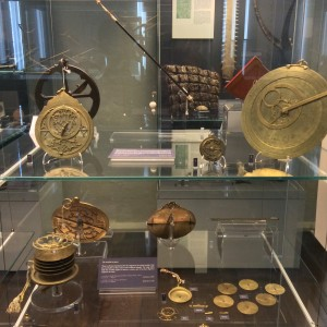 Astrolabes at the Museum of the History of Science