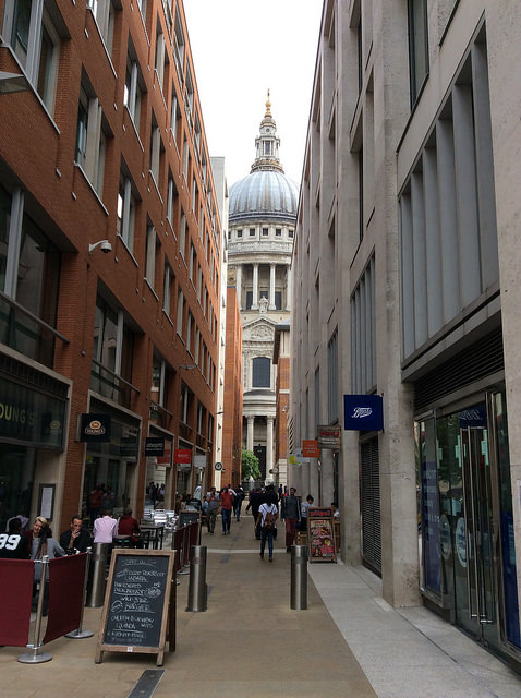 St Pauls narrow